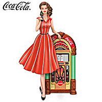 COCA-COLA Rockin' Good Taste Figurine