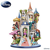 Disney's Pretty As A Princess Castle Sculpture