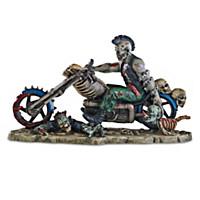 Dead Rider Sculpture