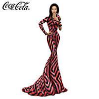 COCA-COLA Sparkling Splendor Figurine