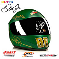 #88 Dale Earnhardt, Jr. Mountain Dew Shine Helmet