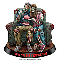 I Love You For Your Brains!!! Figurine