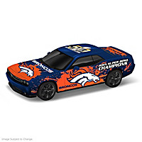 Broncos Power & Pride Super Bowl Victory Car Sculpture