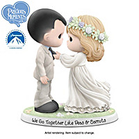 Precious Moments We Go Together Like Peas & Carrots Figurine