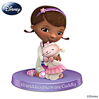 Disney Granddaughters Are Cuddly Figurine