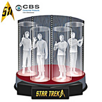 Beam Me Up 50th Anniversary STAR TREK Sculpture