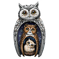 Eyes Of Wisdom Owls Figurine Set