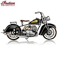 1944 Indian 841 Motorcycle Sculpture