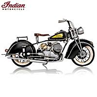 1944 Indian 841 Motorcycle Sculpture