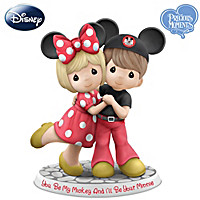 Precious Moments My Mickey And Your Minnie Figurine