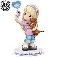 Precious Moments Together We Are Picture Paw-fect Figurine