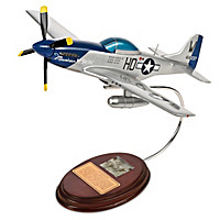 North American P-51D Mustang Sculpture