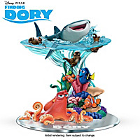 Disney•Pixar An Ocean Of Adventure Awaits Sculpture