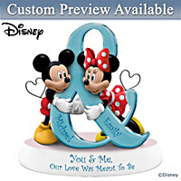 You & Me Our Love Was Meant To Be Personalized Figurine
