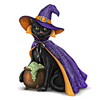 Purr-fectly Bewitching Figurine