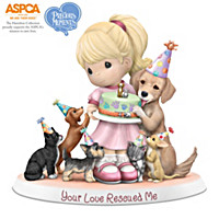 Precious Moments Your Love Rescued Me Figurine