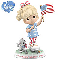 We Fur-ever Salute The Red, White & Blue Figurine