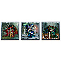 Jasmine Becket-Griffith Mystic Mural Wall Decor Set