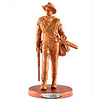 John Wayne Western Legend Sculpture