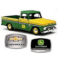 1:25-Scale 1966 C10 Chevrolet Diecast Truck