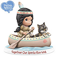 Together Our Spirits Run Wild Figurine