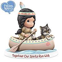 Together Our Spirits Run Wild Figurine