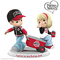 Precious Moments Together We Have Buckeye Spirit Figurine