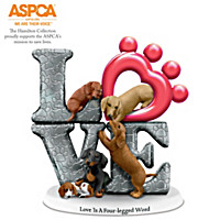 Love Is A Four-legged Word Figurine