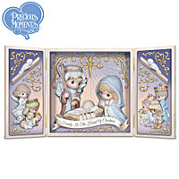 Precious Moments Family Is The Heart Of Christmas Sculpture
