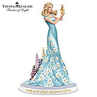 Walk In The Light And Grow In Grace Figurine