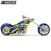 Chase Elliot NAPA Motorcycle Sculpture