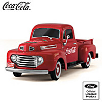 Red, White And Refreshing Truck Sculpture