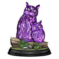 Enchanted Mysterious Owls Figurine