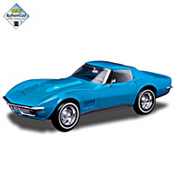 1:18-Scale Corvette 1968 Coupe Sculpture