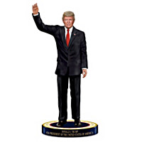 Donald J. Trump, 45th President Figurine