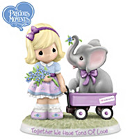 Precious Moments Together We Have Tons Of Love Figurine
