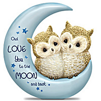 Owl Love You To The Moon And Back Figurine