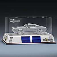 1967 Shelby GT-500 Laser-Etched Block Sculpture