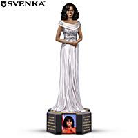 Michelle Obama By Keith Mallett Figurine