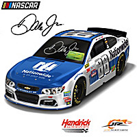 Dale Jr. Autographed 2017 Nationwide Chevy SS Sculpture