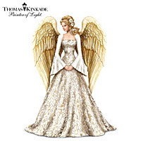 Thomas Kinkade Guiding Light Angel Figurine
