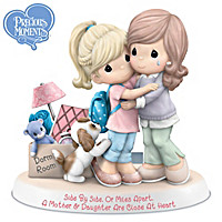 Precious Moments Side By Side Or Miles Apart Figurine