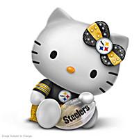 Hello Team Steelers Featuring Hello Kitty Figurine