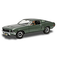 1:18-Scale Ford Mustang GT Fastback '68 Bullitt Diecast Car