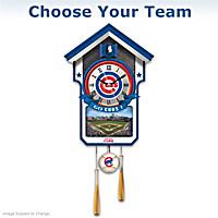 MLB Cuckoo Clock