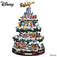 The Ultimate Disney 50-Character Tabletop Christmas Tree