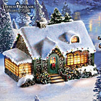 Thomas Kinkade Family Blessings Sculpture