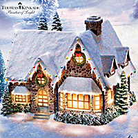 Thomas Kinkade Bless Our Happy Home Sculpture