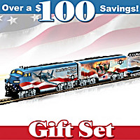 America's Freedom Flyers Train Set