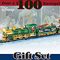 Disney Holiday Celebration Express Train Set